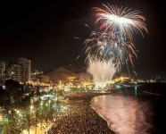 Fuegos artificiales Alicante 2015